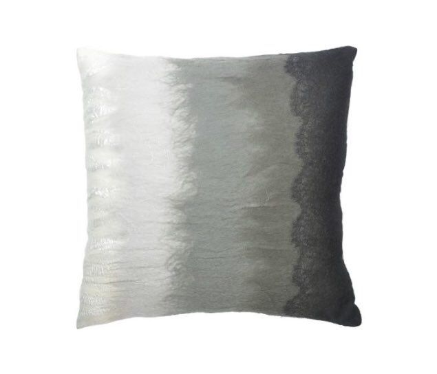 Ombré Black to White by Aviva Stanoff - Voted Best of the Best 4 years running by the American Society of Interior Design. Contact Charlton Island for all UK enquiries including trade, bespoke & media. #luxury #textile #design #cushions #bespoke #ombre #interior #design #interiordesign #interiors #interiorstyle #interiorandhome #velvet #fauxleather #fauxfur #vegan #luxchat #haute #pillows #homedecor #home #homeideas #luxuryhome