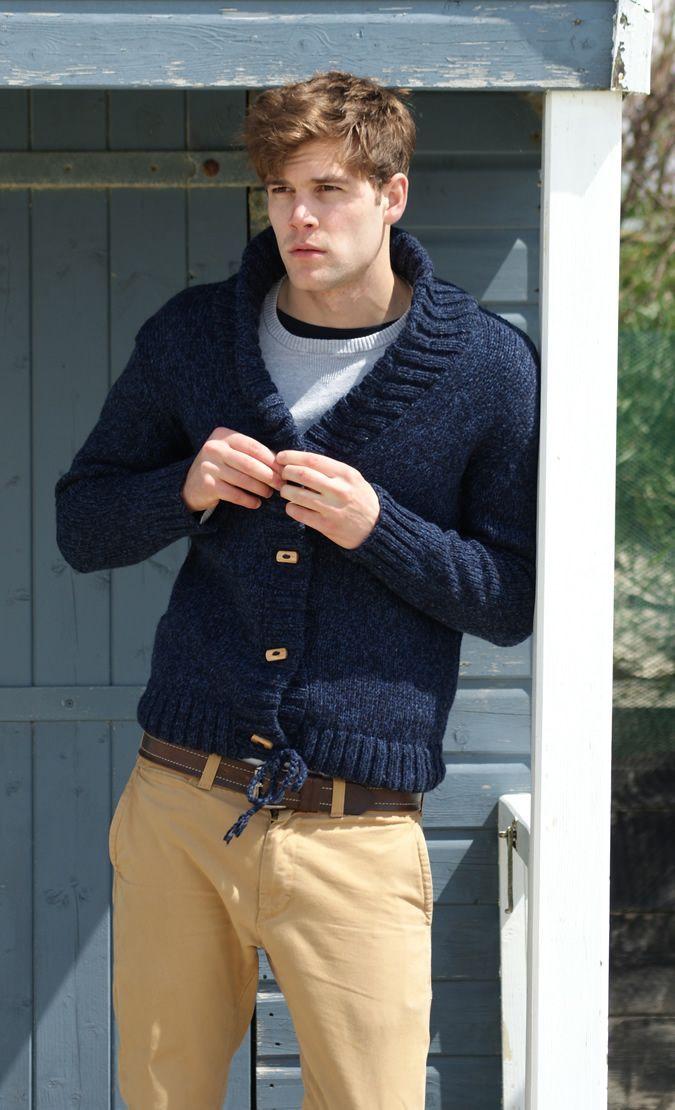 Sweater and slacks
