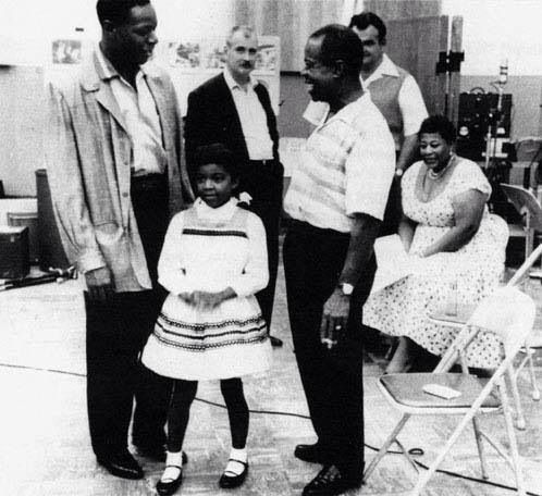Nat King Cole, Natalie Cole, Louis Armstrong, Ella Fitzgerald