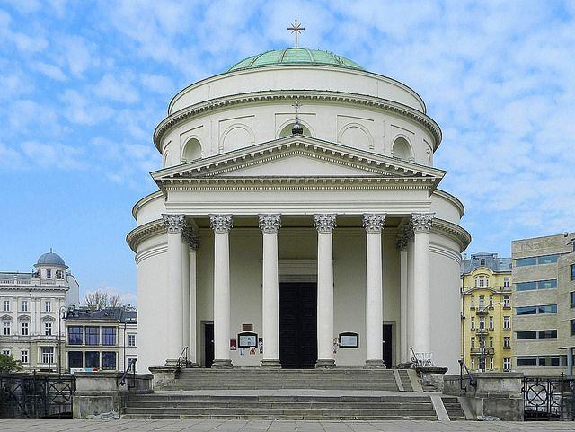 Kościół św. Aleksandra | Plac Trzech Krzyży, Warszawa