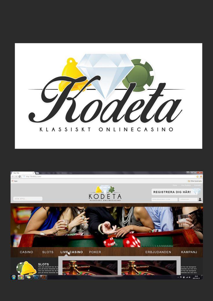Logga samt hemsida (förslag)