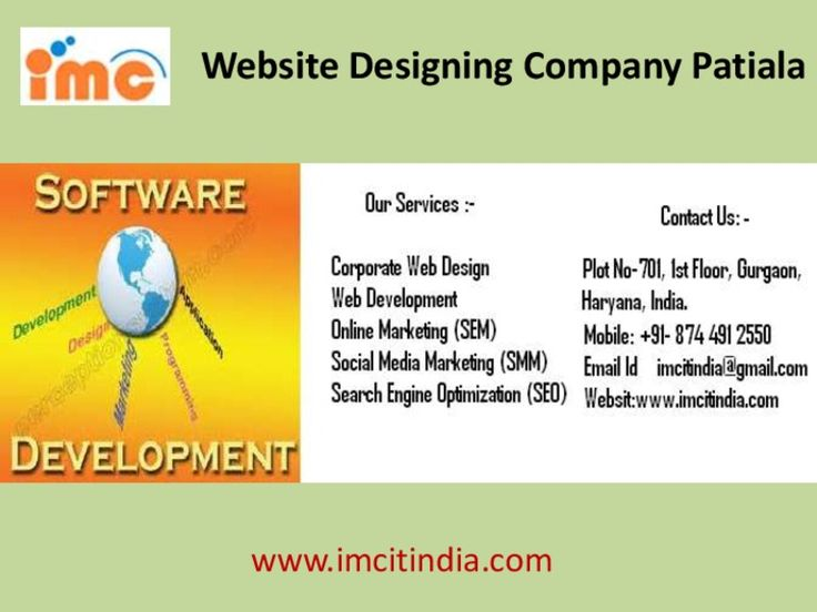 Cheap Website Designing Company Patiala by Bhupendra Rajput via slideshare