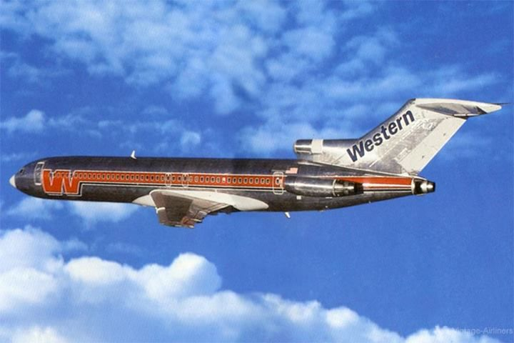 Western Airlines Boeing 727-200