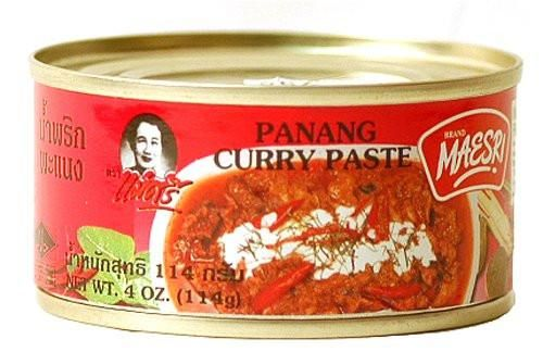Recognized in Thailand as a high-quality curry paste, this panang curry paste from Maesri has a rich taste and authentic flavor. Easy and delicious, just stir-f
