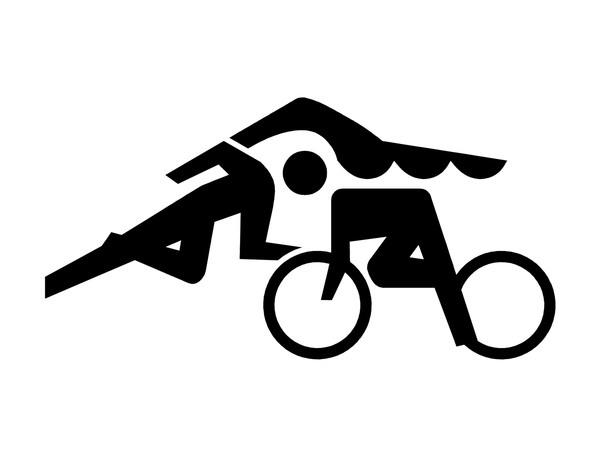 Triathlon Mind Logo by William Barron, via Behance
