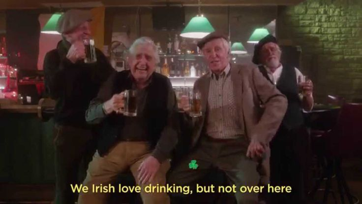 """""""The Modern Irish Drinking Song"""" by CollegeHumor uses the model of a traditional Irish drinking song to highlight some of the worst things about modern bar culture. Expensive drinks, loud and terri..."""