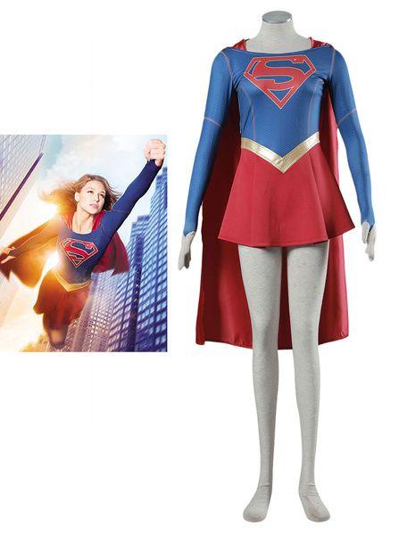 DC Comics Supergirl Halloween Cosplay Costume