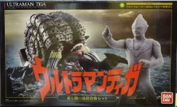 バンダイ ガシャポン ウルトラヒーロー500&ウルトラ怪獣DX ウルトラマンティガ 光と闇の最終決戦セット