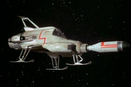 Moonbase Interceptor from Gerry Anderson's UFO (1970-71)