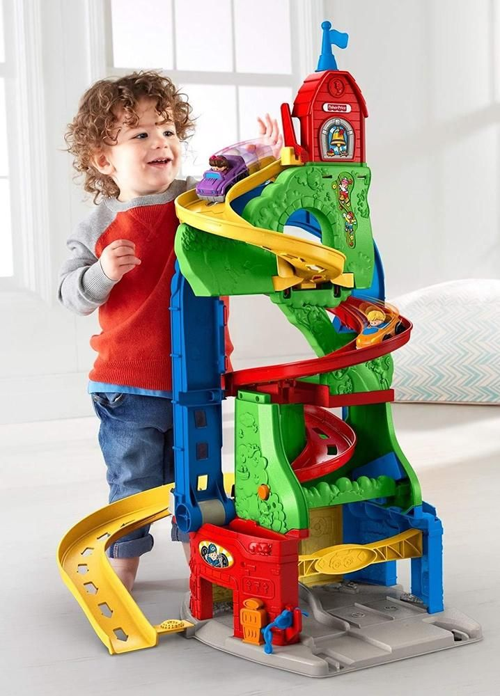 Educational Toys For Boys 1-3 Year Old Learning Kids 4 5 Age Toddler With 2 Cars