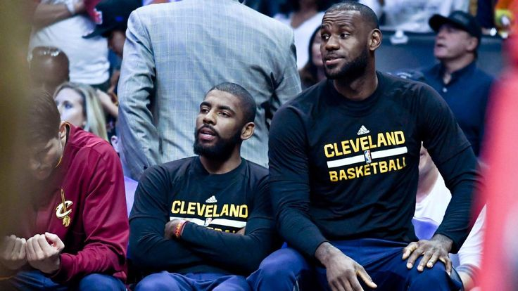 No rest for LeBron, Kyrie until 1-seed clinched #FansnStars