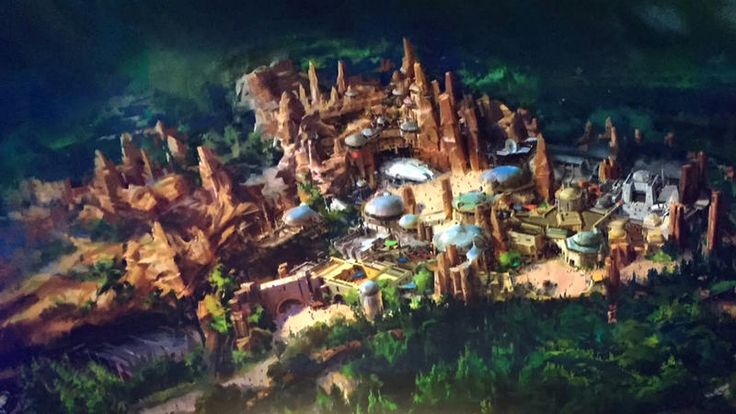 Cool article about Star Wars land