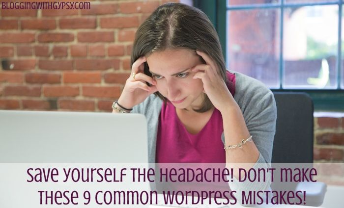 """These """"common"""" WordPress mistakes not only should be avoided like the plague, they tell me that the person who made (or makes) them, didn't even bother doing any kind of research about using WordPress for their web and blogsite. Yes, these are harsh and extremely critical words. Would you rather me title this post """"9 STUPID WordPress mistakes people make that tell the rest of the world they didn't even bother doing any research about creating a website for their business — much less about…"""