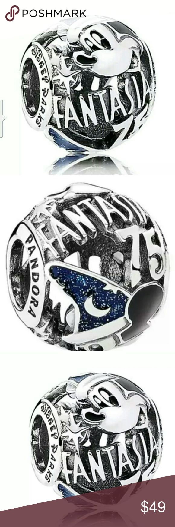 NEW PANDORA DISNEY'S FANTASIA 75th ANNIVERSARY NEW, PANDORA DISNEY'S FANTASIA 75th ANNIVERSARY MICKEY SORCERER CHARM BEAD. PANDORA Jewelry Bracelets