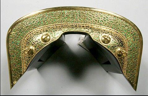 korea antique 4~5th Century Horse saddle