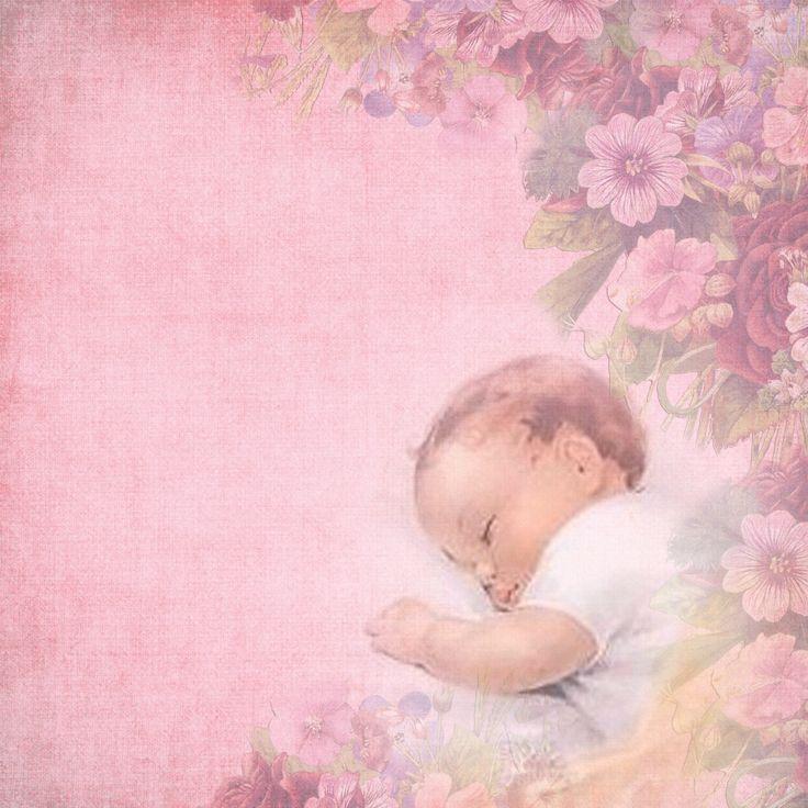 Открытку, фон для открытки с новорожденными