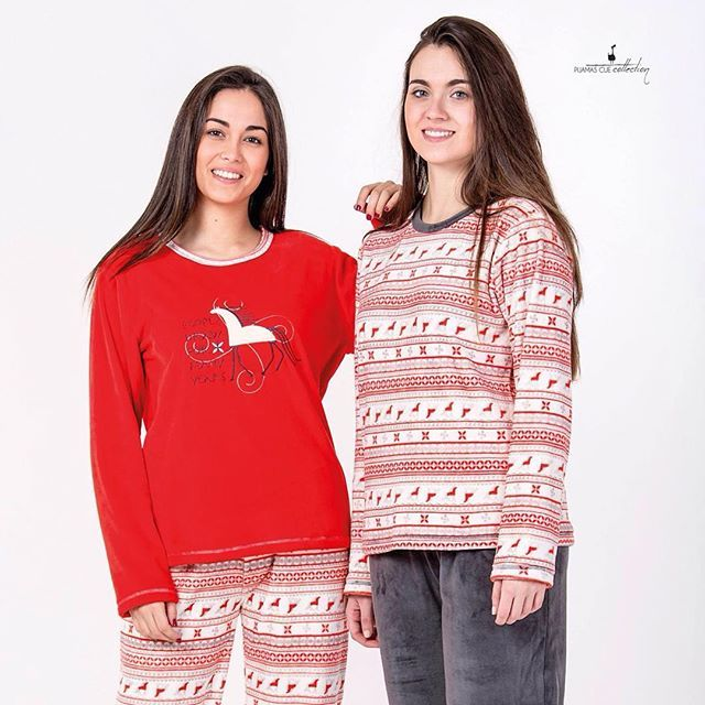Pijamas de los calentitas para esas alertas rojas de frío y nieve! #pijama #pijamascue #cue #invierno #frio #noche #dormir #polar #calor #comodidad #calidad #españa
