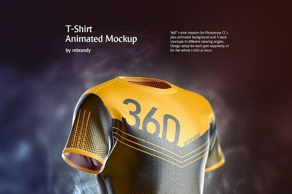 Download T Shirt Animated Mockup Clothing Mockup Animation Background Powerful Computer