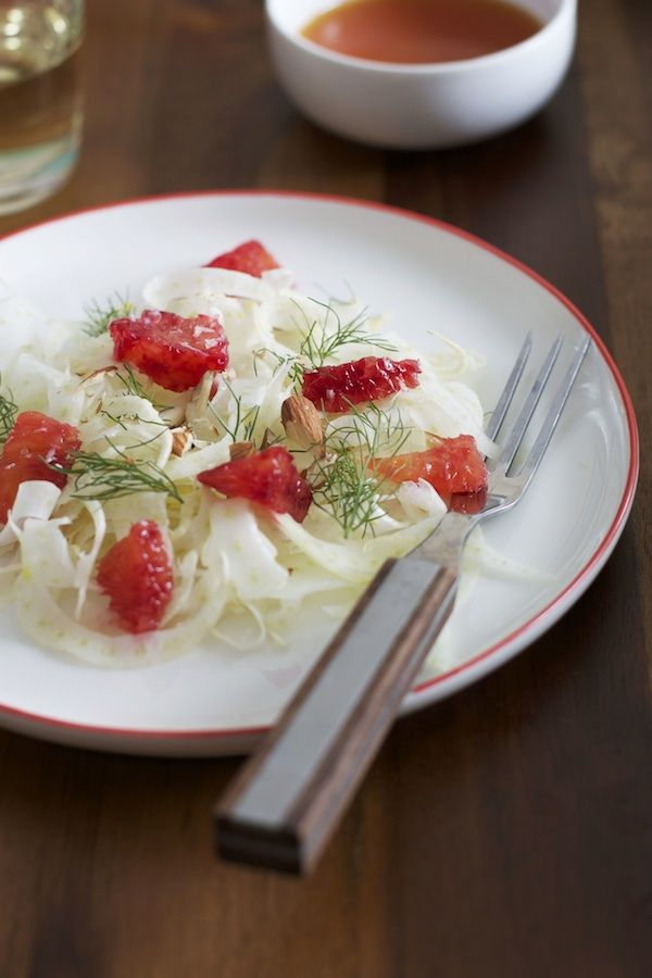 Blood Orange & Fennel Salad with Almonds | Savory | Pinterest