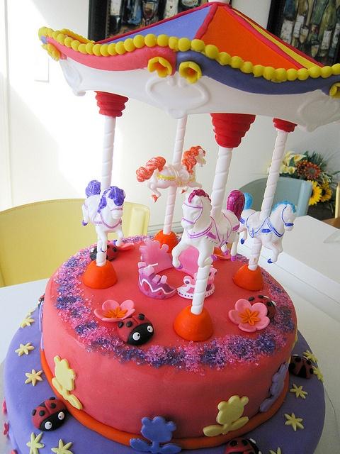 36 Best Carousel Images On Pinterest Carousel Cake
