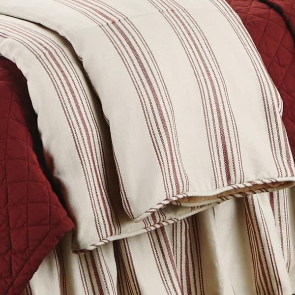 Overstock Com Online Shopping Bedding Furniture Electronics Jewelry Clothing More In 2021 Striped Duvet Luxury Duvet Covers Red Duvet Cover