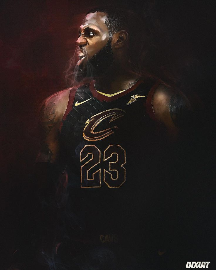 """44 Likes, 1 Comments - Dixuit  (@dixuit18) on Instagram: """"Lebron is ready for the Finals #digitalart #nbaart #artwork #basketball #lebronjames #lebron #nba…"""""""