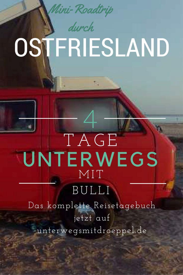 Ostfriesland-Reise im Herbst - 4 Tage mit dem Bulli unterwegs. . Strand, Alpakas, Ostfriesentee, Camping und Fischbrötchen. Ein kurzer Road Trip im VW Bus.