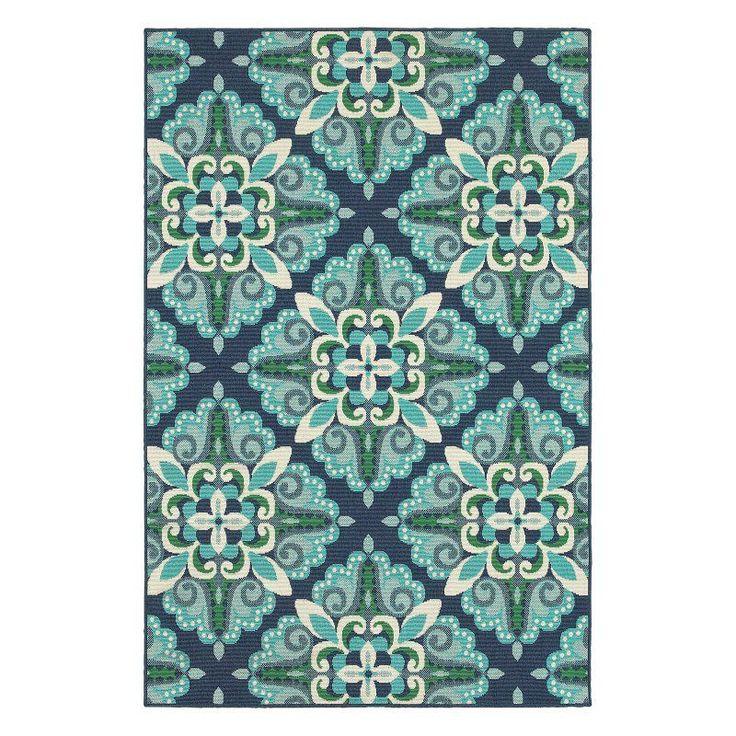 Oriental Weavers Meridian 2206B Indoor/Outdoor Area Rug - M2206B068230ST