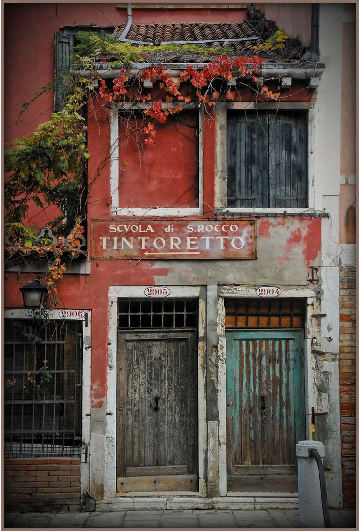 Somehow this run-down storefront feels like home. Second that; the color the shape of the doors the aging; a feeling of familiarity. & 3312 best I Heart Doors images on Pinterest | Windows Portal and ... Pezcame.Com