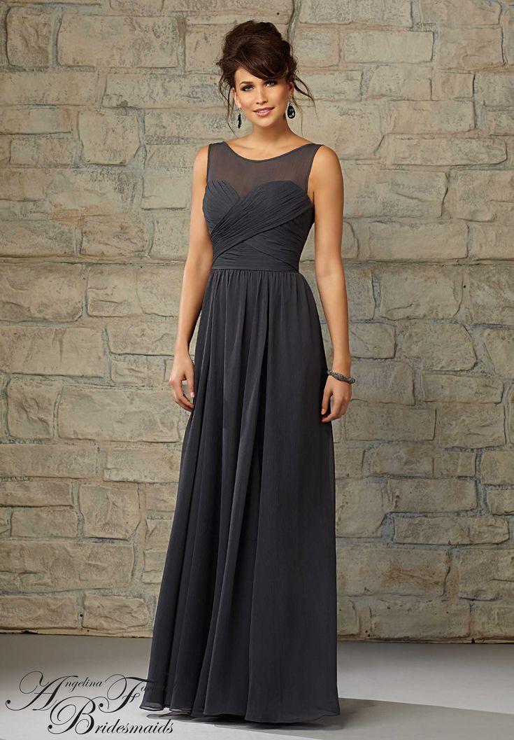 20451 Bridesmaids Dresses Luxe Chiffon