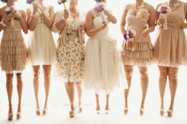 Best 25 Beige Bridesmaids Ideas On Pinterest: 17 Best Images About Bridesmaid Dresses In Tan, Sand And