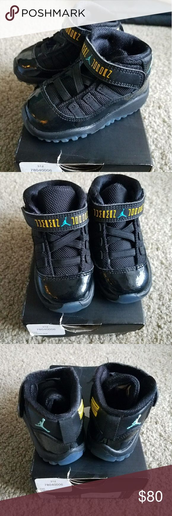 Jordan Gamma 11 sz 5c Infant Excellent condition worn lightly,  practically new,  resellers want 125-150$ easy for these rare jordan Jordan Shoes Sneakers