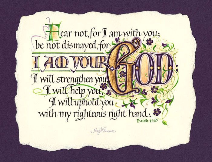 Best 20+ Isaiah 41 10 13 ideas on Pinterest   Do not be afraid ...