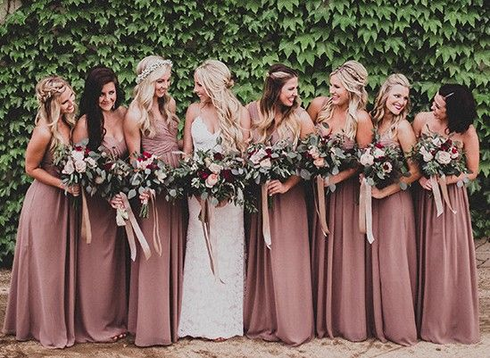 We have received numerous emails on Logan's beautiful Dessy bridesmaid dresses and of course, we are here to share with you on how to steal their bridesmaid look for your own wedding. Keep reading t