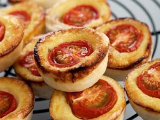 Muffins à la tomate et au curry sans gluten