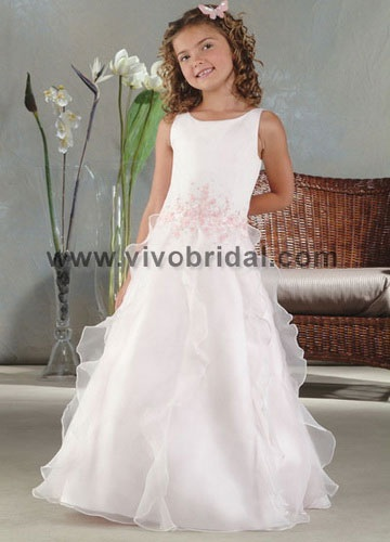 Vivo Bridal - Flower Girl DressE-0016