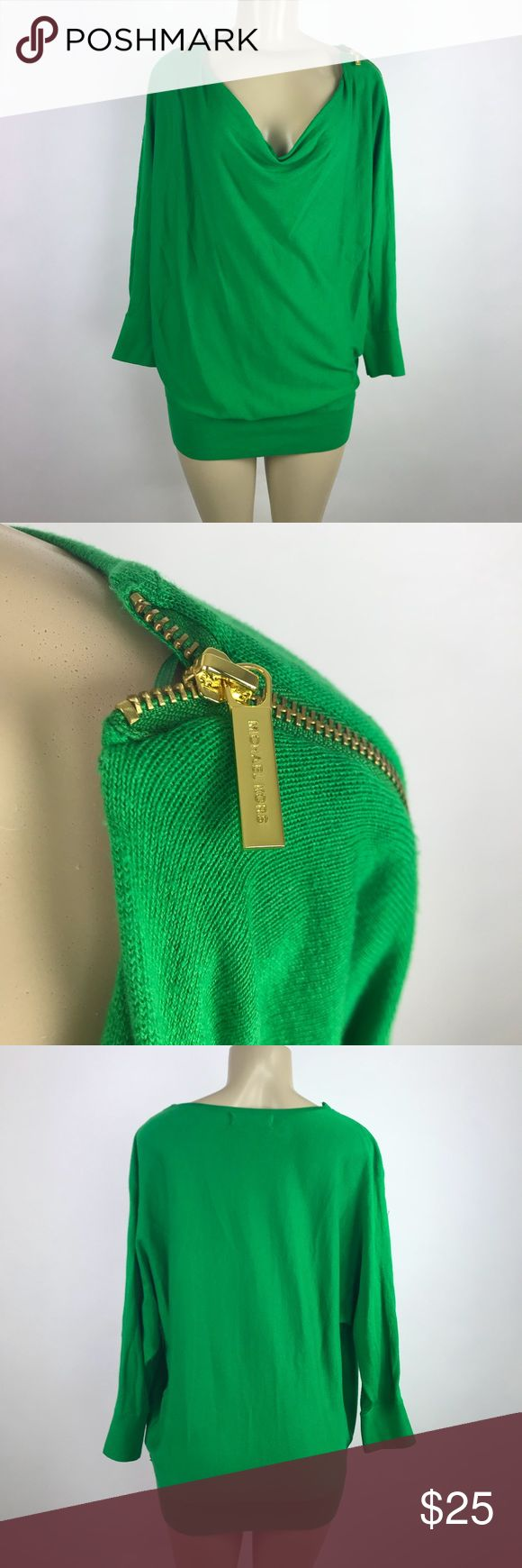 Michael Kors Women Cowl Neck Sweater Great used condition Michael Kors Sweaters Cowl & Turtlenecks