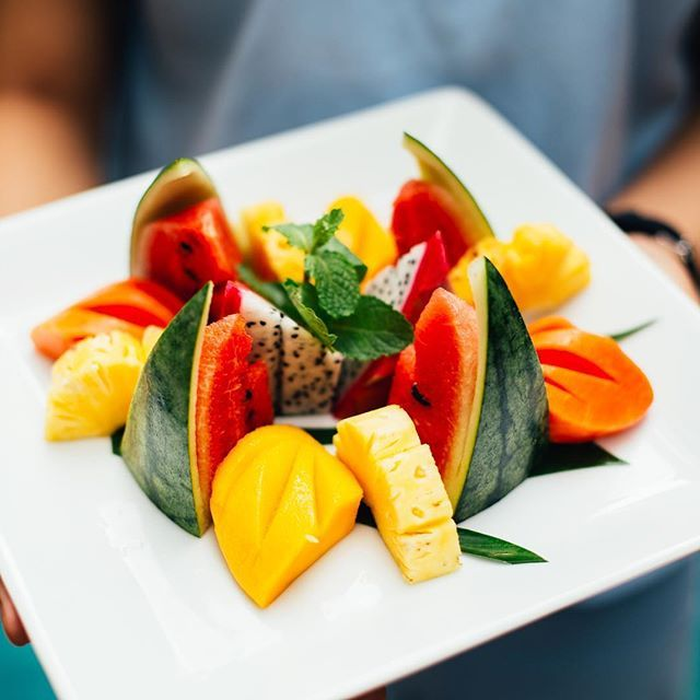 370 best maisons khmer images on pinterest aromatherapy fresh plate of fruit in cambodia by natalylee malvernweather Choice Image