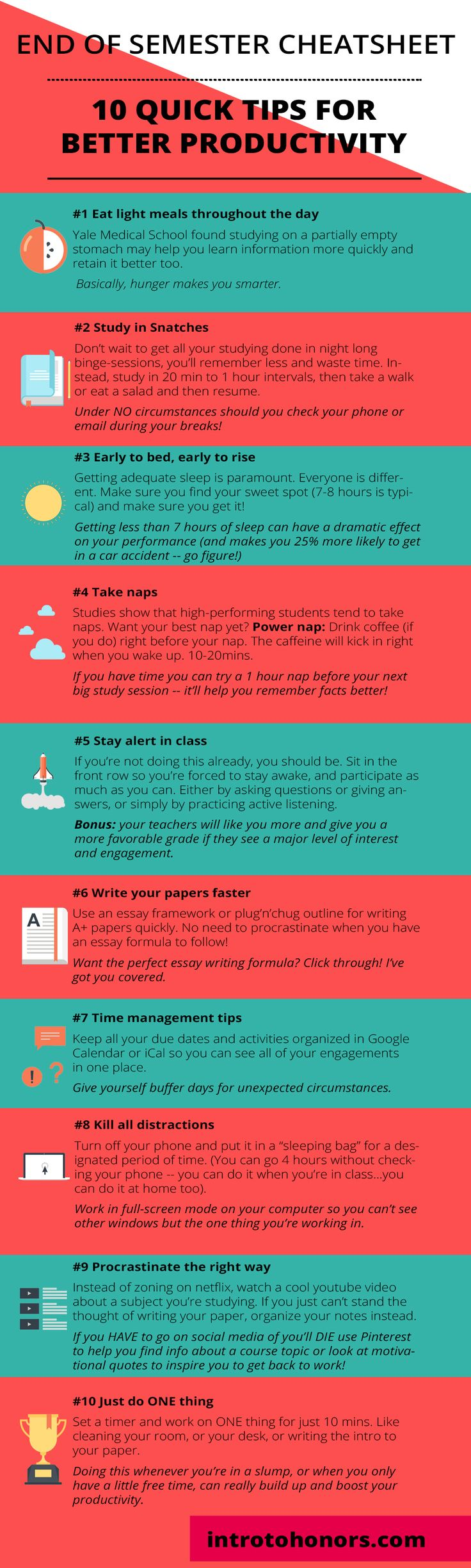 Best Tips To Boost Your Productivity In College   Perfect For Finals Week.