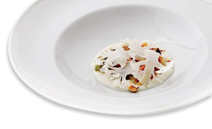 """Variazione di cavolfiore"" di Emanuela Tommolini, chef specializzata in cucina naturale e vegetariana  #food #vegan #lamadia"