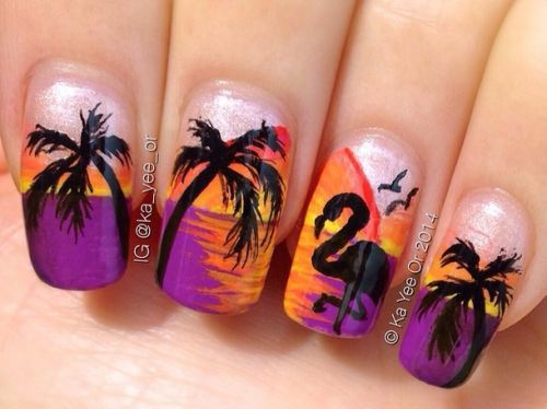 15 coole Sommer Nail Art Designs, Ideen, Trends & mehr! Aufkleber 2015