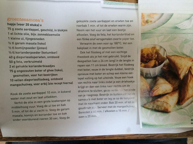 Groente samosa's