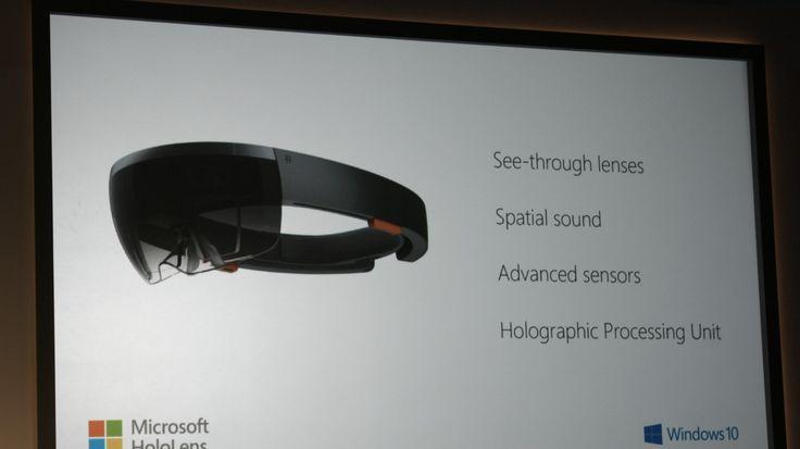 Microsoft unveils Windows Holographic, HoloLens wearable