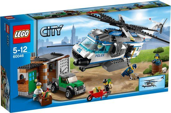 LEGO City Helikopter Patrouille - 60046