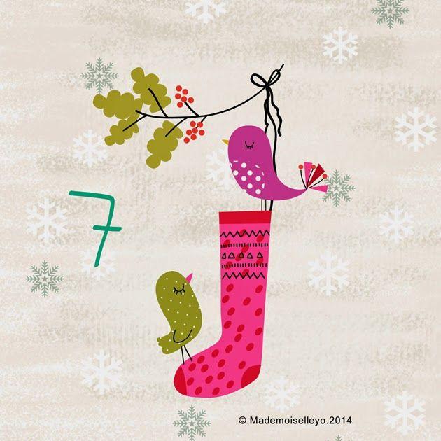 Mademoiselleyo: Advent calendar 6, 7, 8