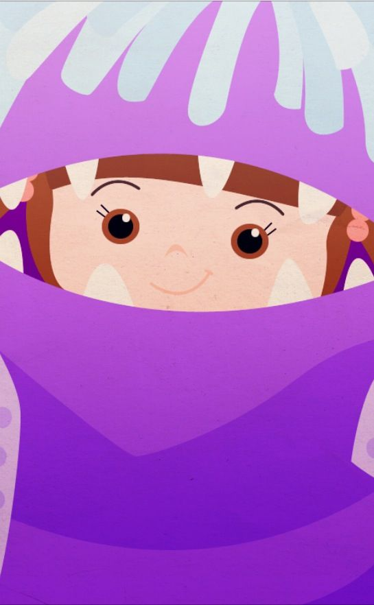 """Boo from """"Monsters Inc"""" Disney iPhone background by PetiteTiaras"""