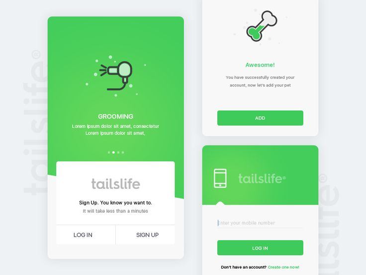 Tailslife: Login by Ranjith Alingal