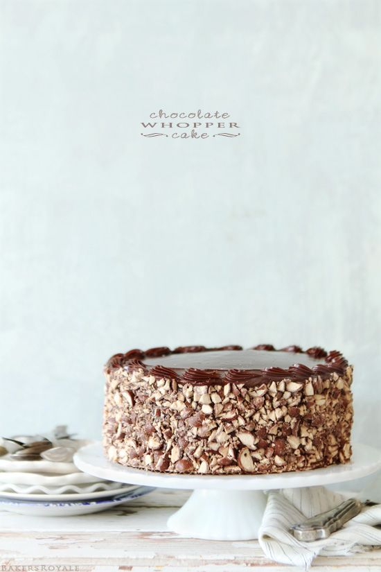 Chocolate Whopper Cake by Bakers Royale