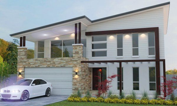 House Plan 303lh-Skillon Modern Two Storey Design