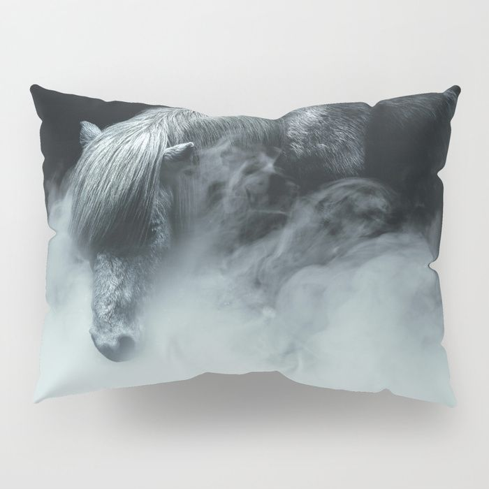 Things change Pillow Sham by HappyMelvin. #horse #photography #fineart #pillowsham